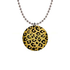 SKN5 BK MARBLE GOLD Button Necklaces