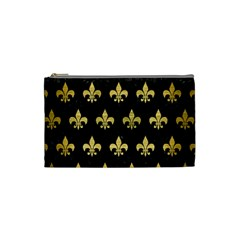 RYL1 BK MARBLE GOLD (R) Cosmetic Bag (Small)