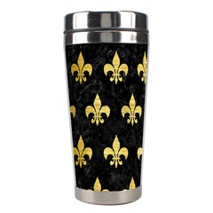 RYL1 BK MARBLE GOLD (R) Stainless Steel Travel Tumblers