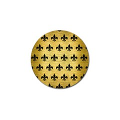 RYL1 BK MARBLE GOLD Golf Ball Marker (4 pack)