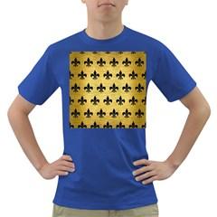 RYL1 BK MARBLE GOLD Dark T-Shirt