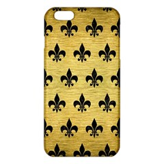 RYL1 BK MARBLE GOLD iPhone 6 Plus/6S Plus TPU Case