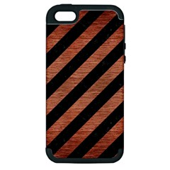 STR3 BK MARBLE COPPER Apple iPhone 5 Hardshell Case (PC+Silicone)