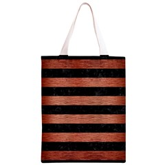 STR2 BK MARBLE COPPER Classic Light Tote Bag
