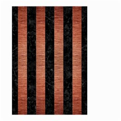 STR1 BK MARBLE COPPER Small Garden Flag (Two Sides)