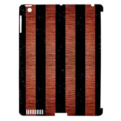 STR1 BK MARBLE COPPER Apple iPad 3/4 Hardshell Case (Compatible with Smart Cover)