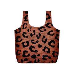 SKN5 BK MARBLE COPPER Full Print Recycle Bags (S)