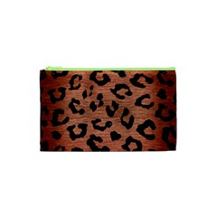 SKN5 BK MARBLE COPPER Cosmetic Bag (XS)