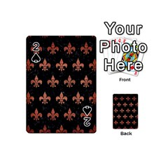 RYL1 BK MARBLE COPPER (R) Playing Cards 54 (Mini)