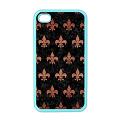 RYL1 BK MARBLE COPPER (R) Apple iPhone 4 Case (Color)