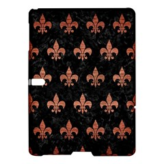 Royal1 Black Marble & Copper Brushed Metal (r) Samsung Galaxy Tab S (10 5 ) Hardshell Case