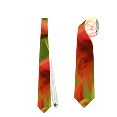 Poppy II - wonderful summer feelings Neckties (Two Side)