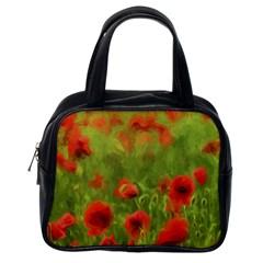 Poppy II - wonderful summer feelings Classic Handbags (One Side)