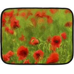 Poppy Ii   Wonderful Summer Feelings Fleece Blanket (mini)