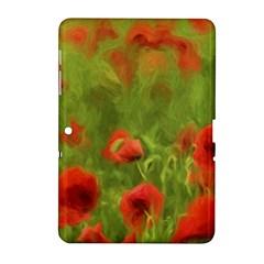 Poppy II - wonderful summer feelings Samsung Galaxy Tab 2 (10.1 ) P5100 Hardshell Case