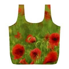Poppy II - wonderful summer feelings Full Print Recycle Bags (L)