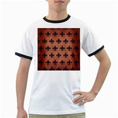 RYL1 BK MARBLE COPPER Ringer T-Shirts