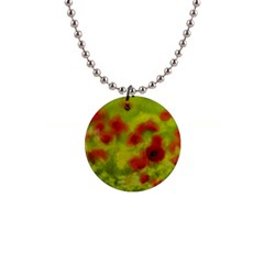 Poppy III Button Necklaces
