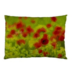 Poppy III Pillow Case (Two Sides)