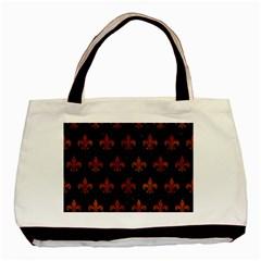 RYL1 BK MARBLE BURL (R) Basic Tote Bag
