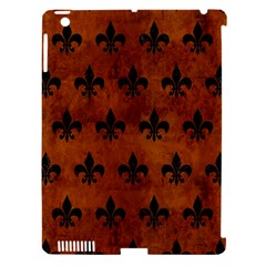 RYL1 BK MARBLE BURL Apple iPad 3/4 Hardshell Case (Compatible with Smart Cover)