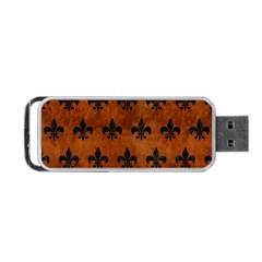 RYL1 BK MARBLE BURL Portable USB Flash (One Side)
