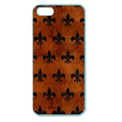RYL1 BK MARBLE BURL Apple Seamless iPhone 5 Case (Color)
