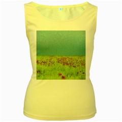 Poppy IV Women s Yellow Tank Top
