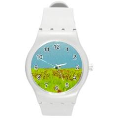 Poppy IV Round Plastic Sport Watch (M)