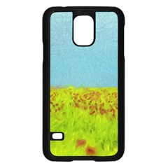 Poppy IV Samsung Galaxy S5 Case (Black)