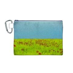 Poppy IV Canvas Cosmetic Bag (M)