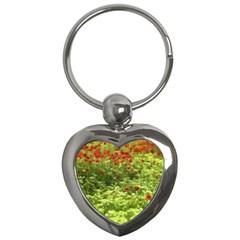 Poppy V Key Chains (Heart)
