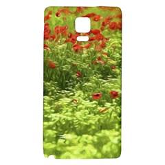 Poppy V Galaxy Note 4 Back Case