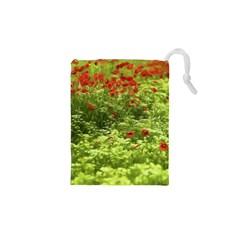 Poppy V Drawstring Pouches (xs)