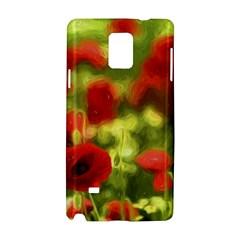 Poppy VI Samsung Galaxy Note 4 Hardshell Case