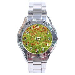 Poppy VII Stainless Steel Analogue Watch