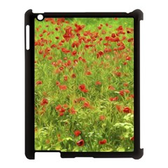 Poppy VII Apple iPad 3/4 Case (Black)