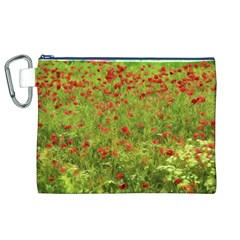 Poppy VII Canvas Cosmetic Bag (XL)