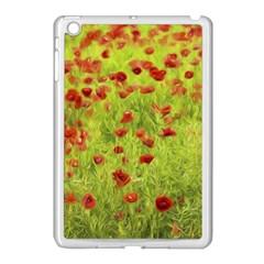 Poppy Viii Apple Ipad Mini Case (white)