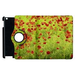 Poppy VIII Apple iPad 2 Flip 360 Case