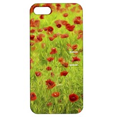 Poppy VIII Apple iPhone 5 Hardshell Case with Stand
