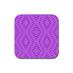 TOTAL CONTROL Rubber Square Coaster (4 pack)