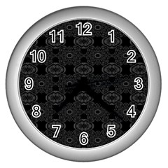 Powder Magic Wall Clocks (silver)