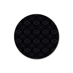 Powder Magic Rubber Coaster (round)