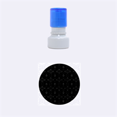 Powder Magic Rubber Round Stamps (small)