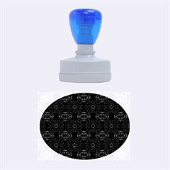 Powder Magic Rubber Oval Stamps