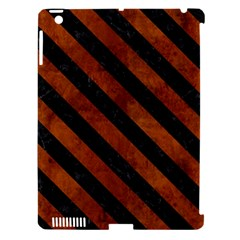STR3 BK MARBLE BURL (R) Apple iPad 3/4 Hardshell Case (Compatible with Smart Cover)