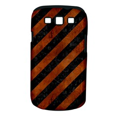 STR3 BK MARBLE BURL Samsung Galaxy S III Classic Hardshell Case (PC+Silicone)