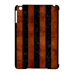 STR1 BK MARBLE BURL Apple iPad Mini Hardshell Case (Compatible with Smart Cover)