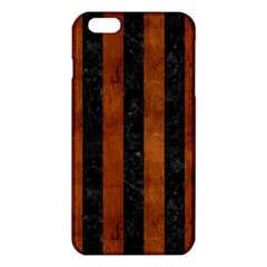 STR1 BK MARBLE BURL iPhone 6 Plus/6S Plus TPU Case
